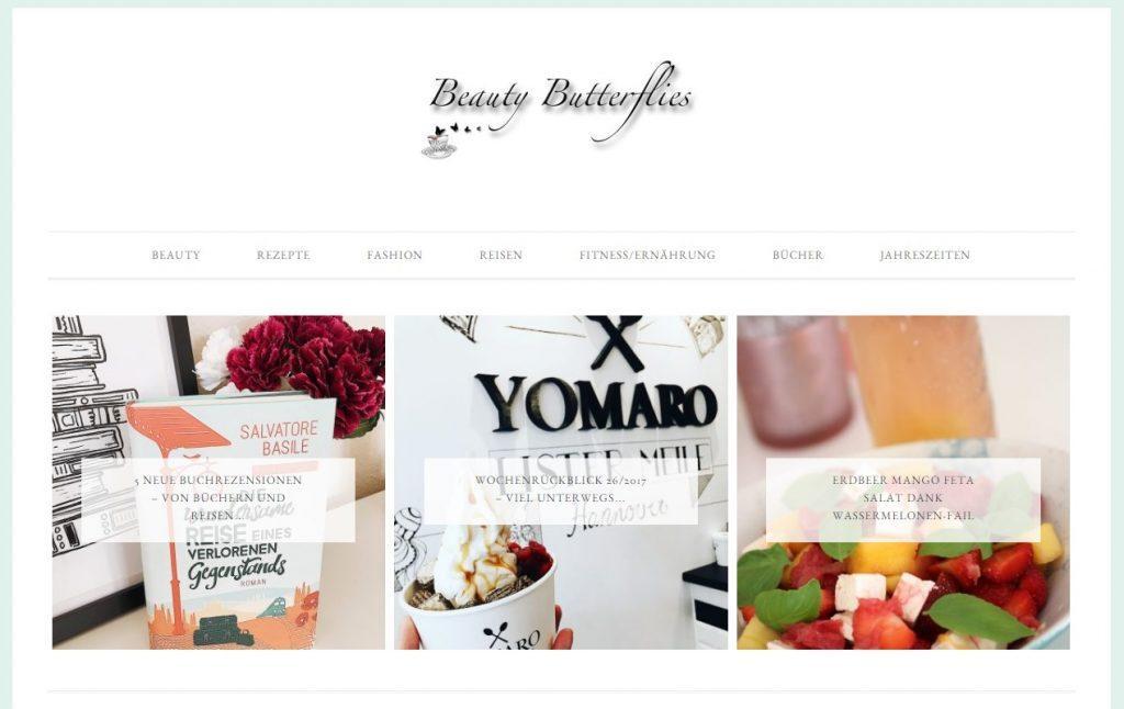 Beautybutterflies Blog in der Bestenliste
