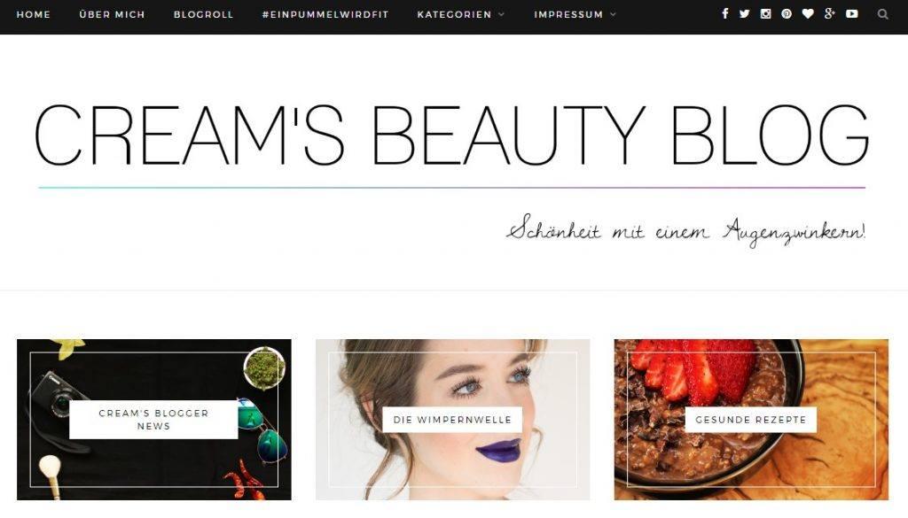creamsbeautyblog - Blogger Bestenliste