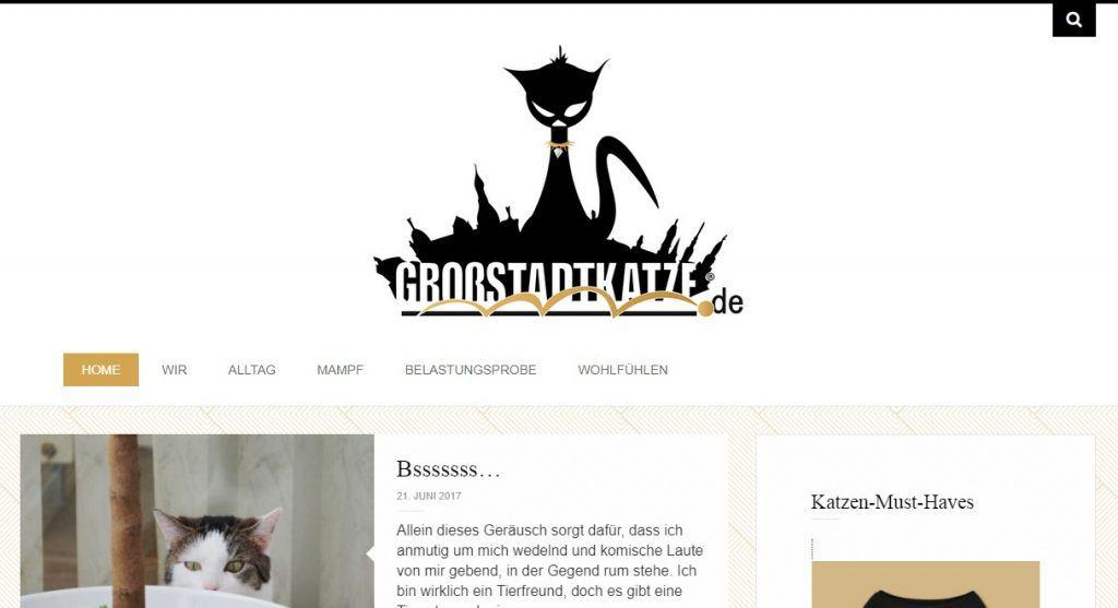 grossstadtkatze blogger Bestenliste
