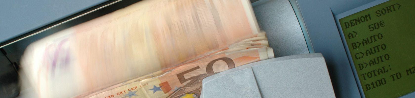 Geldzählmaschinen im Test auf ExpertenTesten.de
