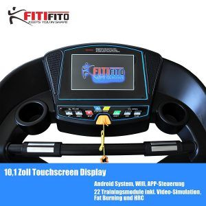 Fitifito Laufband Touchscreen Display