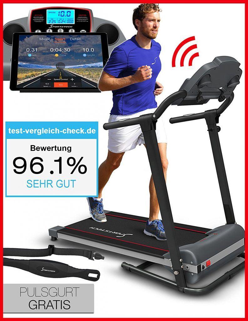 Sportstech F10 Laufband im Testvergleich