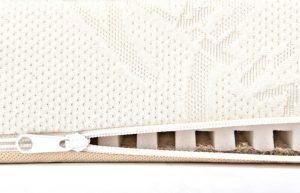 Details der BestCare® - Naturmatratze Babymatratze Kinderbettmatratze aus Pflanzenfasern.
