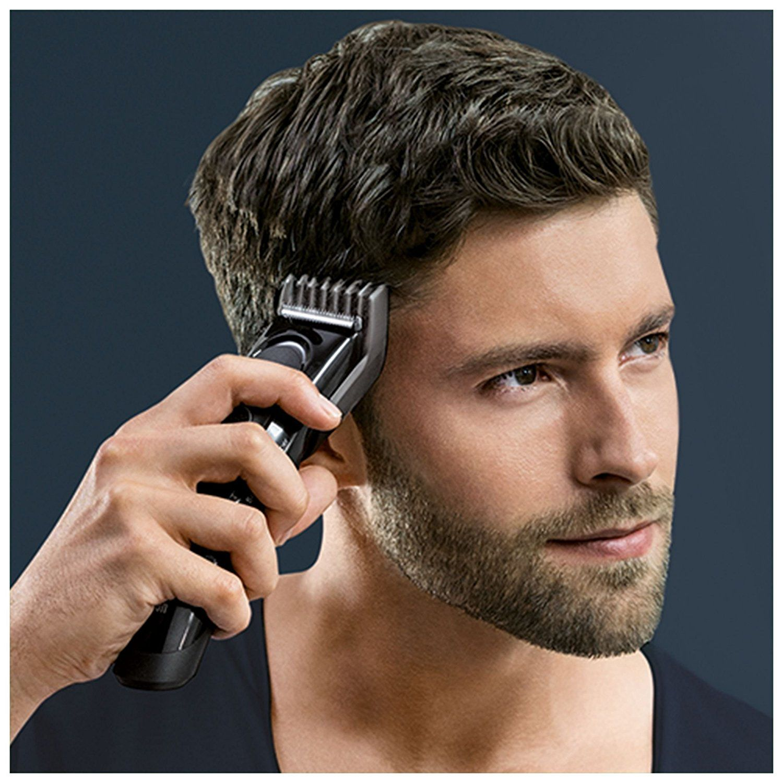 Braun Haarschneider HC5050, einsetzbar als Trimmer, 17 Längen, schwarz Test