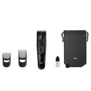 Braun Haarschneider HC5050, einsetzbar als Trimmer, 17 Längen, schwarz Zubehoer