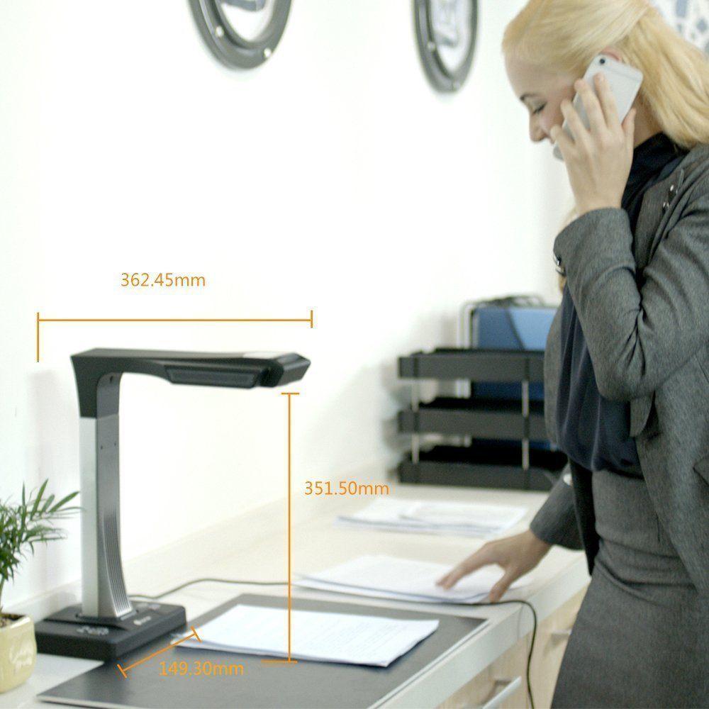 CZUR Scanner Mit Einknopf Bedienung WLAN Dokumentenscanner F%C3%BCr B%C3%BCcher Dokumente Materialien Bilder.