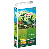 Cuxin Rasendünger Spezial Minigran – langfristige Wirkung, gute Körnung