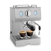 Edelstahl Espressomaschine Emilia