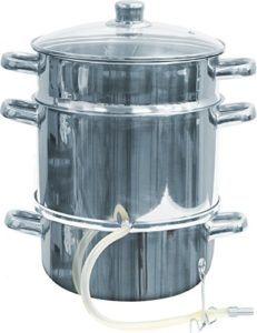 Der Edelstahl MultiDepot Dampfentsafter ist für die Spülmaschine.