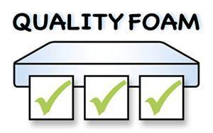 Die IWH 871966 Schaumstoffmatratze für Kinderbett ist qualitativ hochwertig.