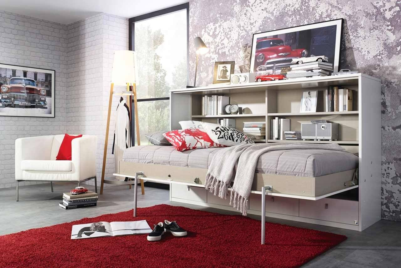 jugendbett selber bauen bettkopcteil mit stoff selber. Black Bedroom Furniture Sets. Home Design Ideas