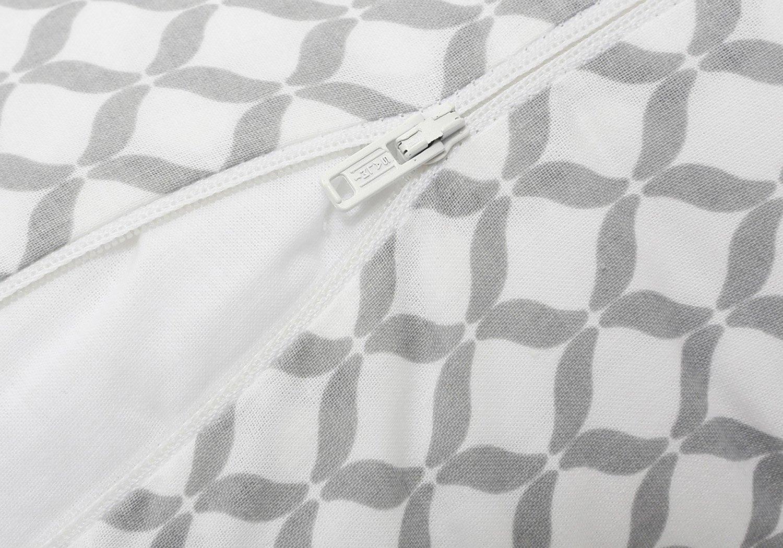 Motherhood Stillkissen inkl. abnehmbarem Bezug 100% Baumwolle, Öko-Tex Standard 100 – ergonomisch, Grau Classics 2017