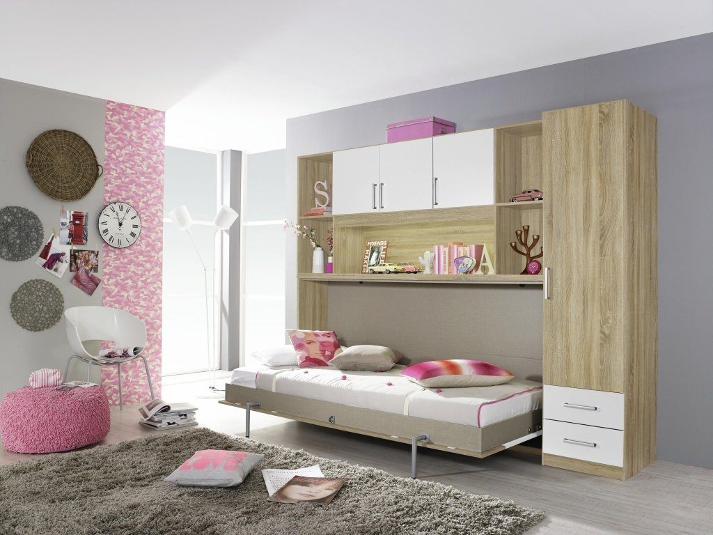 tolle bett schrank kombination ideen das beste architekturbild. Black Bedroom Furniture Sets. Home Design Ideas