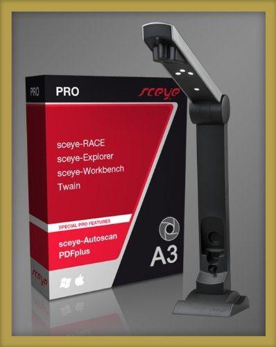 Sceye SceyeX A3 Scanner Inkl. Autoscan SC91250 Anthrazit
