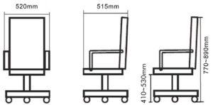Der SixBros. Bürostuhl Drehstuhl Schreibtischstuhl Grün hat eine Aufbauanleitung im Lieferumfang.