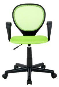 Der SixBros. Bürostuhl Drehstuhl Schreibtischstuhl Grün lässt sich stufenlos verstellen.