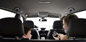 Der Sony MEX-N4100BT Autoradio im Einsatz.