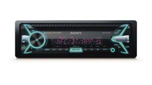Der Sony MEX-N5100BT Autoradio hat 35.000 Farbmöglichkeiten.