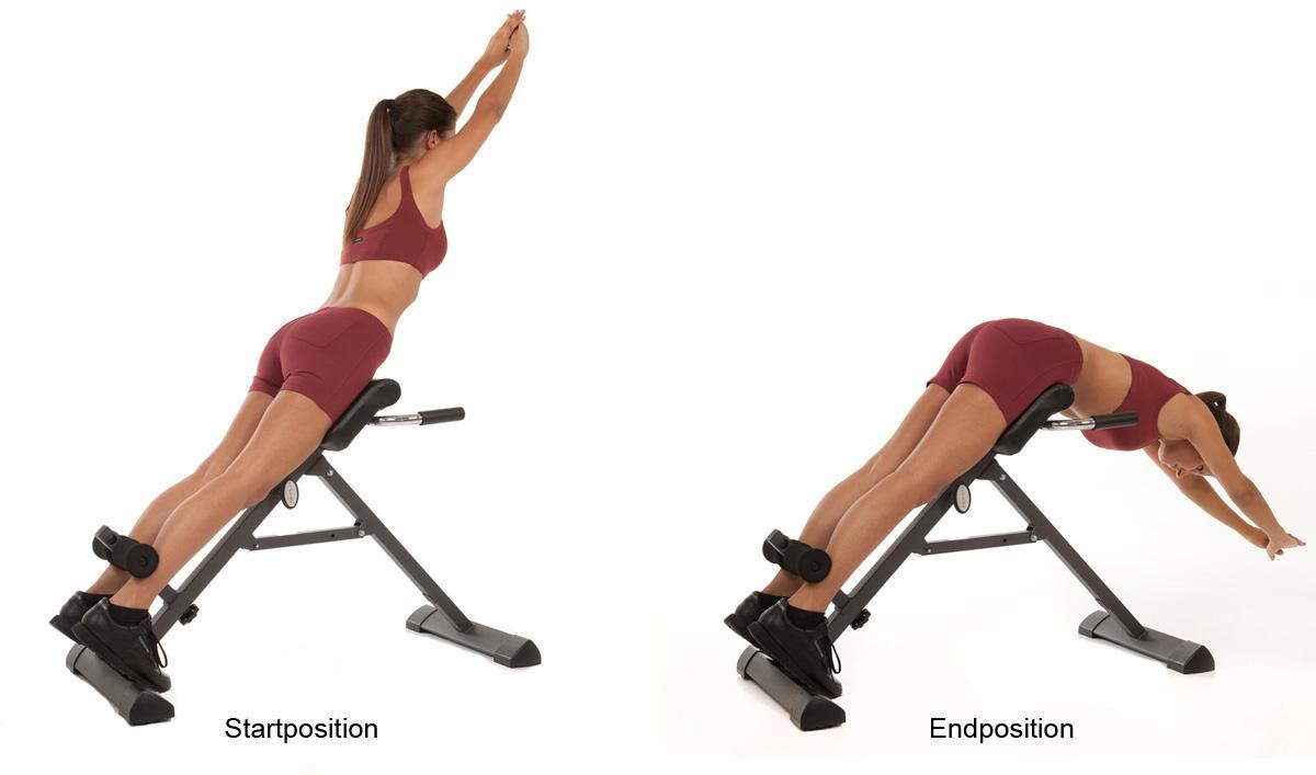 Stärkung der Rückenmuskulatur und zur Vorbeugung von Rückenschmerzen