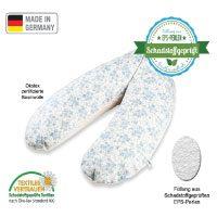 Stillkissen-und-Lagerungskissen-Original-Sharlene®-schadstoffgeprüfte-EPS-Mikroperlen-Ökotex-zertifiziert-in-verschiedenen-Farben-und-Größen-Handmade-in-Germany-(185-cm,-Blau-Creme)