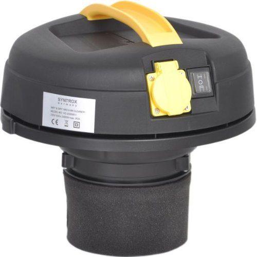 Filtersystem vom 2000 Watt 20 Liter Industriestaubsauger von Syntrox Germany