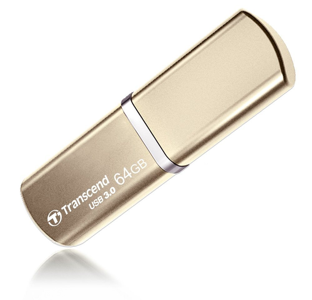 Transcend JetFlash 820G 64GB USB Stick Metallic Geh%C3%A4use USB 3.0 Champagnerfarben
