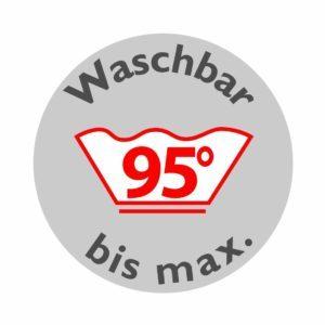 Die Traumnacht Kindermatratze ist bis 95 Grad waschbar.