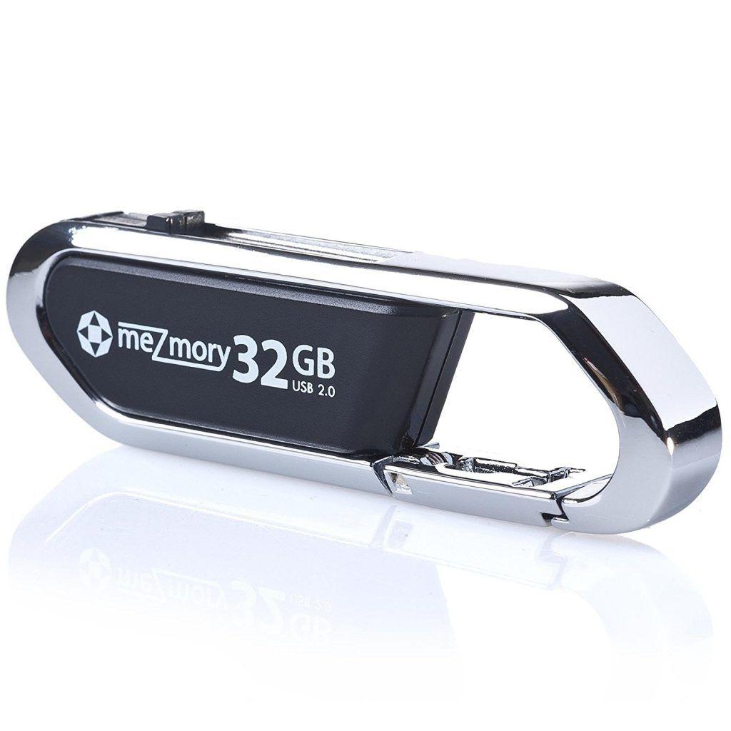 USB Stick 32GB 2.0 Clip Karabiner