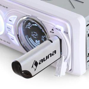 Das auna MD-170-BT Autoradio Bluetooth MP3 lässt sich leicht einbauen.