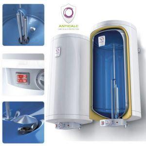 MagicSan 100 Liter Boiler mit emailliertem Stahlbehälter im ...