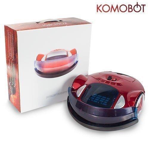 Triway KomoBot Saugroboter im Test mit Verpackung
