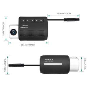 AUKEY Auto Kamera Mini Wifi WLAN Auto Dashcam