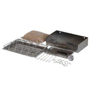 Räucherofen / Räucherschrank in Edelstahl + Elektro Set