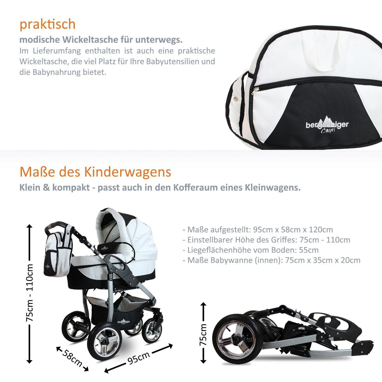bergsteiger capri kombikinderwagen im test 2018. Black Bedroom Furniture Sets. Home Design Ideas