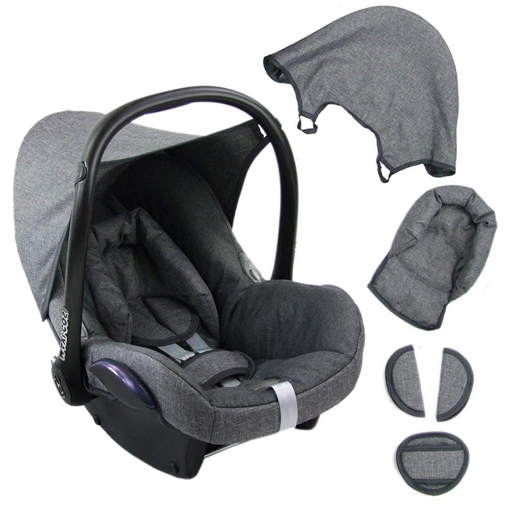 BambiniWelt Ersatzbezug F%C3%BCr Maxi Cosi CabrioFix 6 Tlg.
