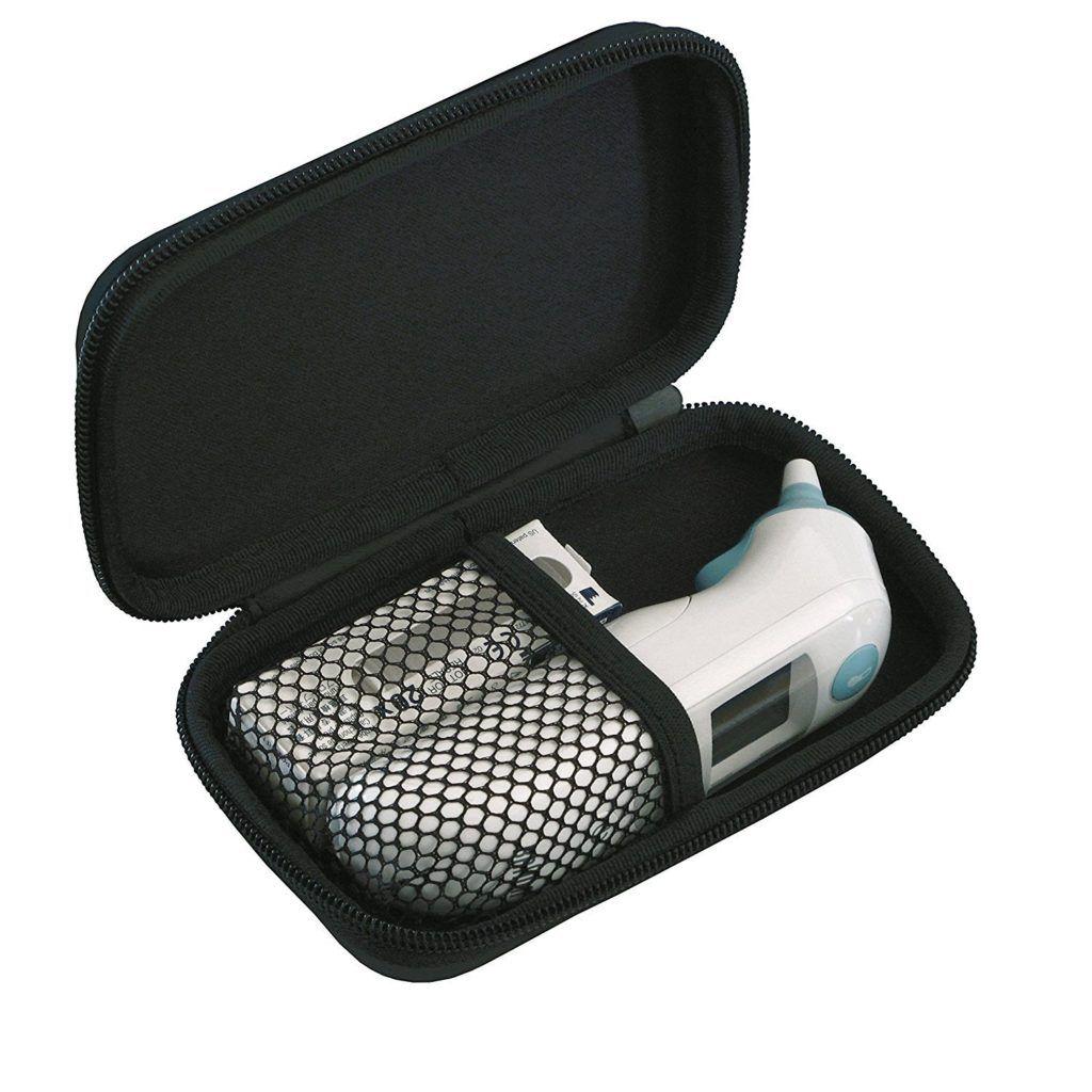 Braun Protective Aufbewahrungstasche F%C3%BCr ThermoScan Ohrthermometer 1