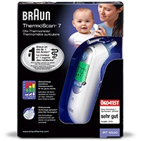 ThermoScan 7 Infrarot Ohrthermometer IRT6520
