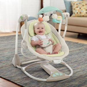 Die Bright Starts 60198 Babyschaukel ist bis 9 Kilo konzipiert.