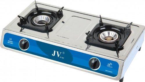 CAGO JV 03s Campingkocher Gaskocher 2 Flammig