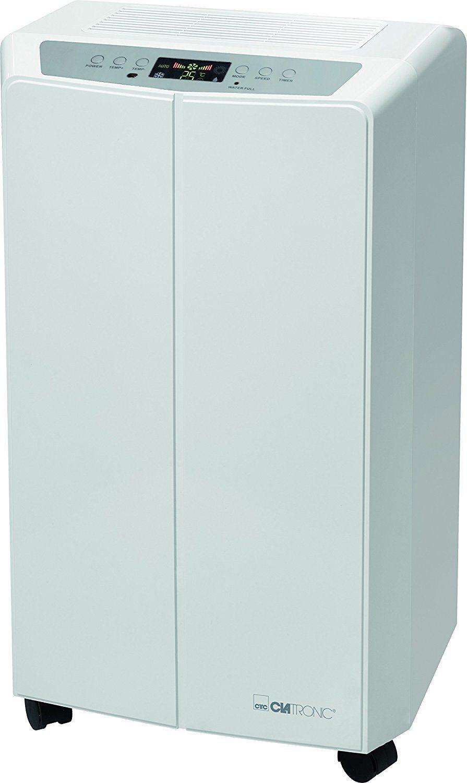 CL 3637 mobiles Klimagerät weiß Frontansicht