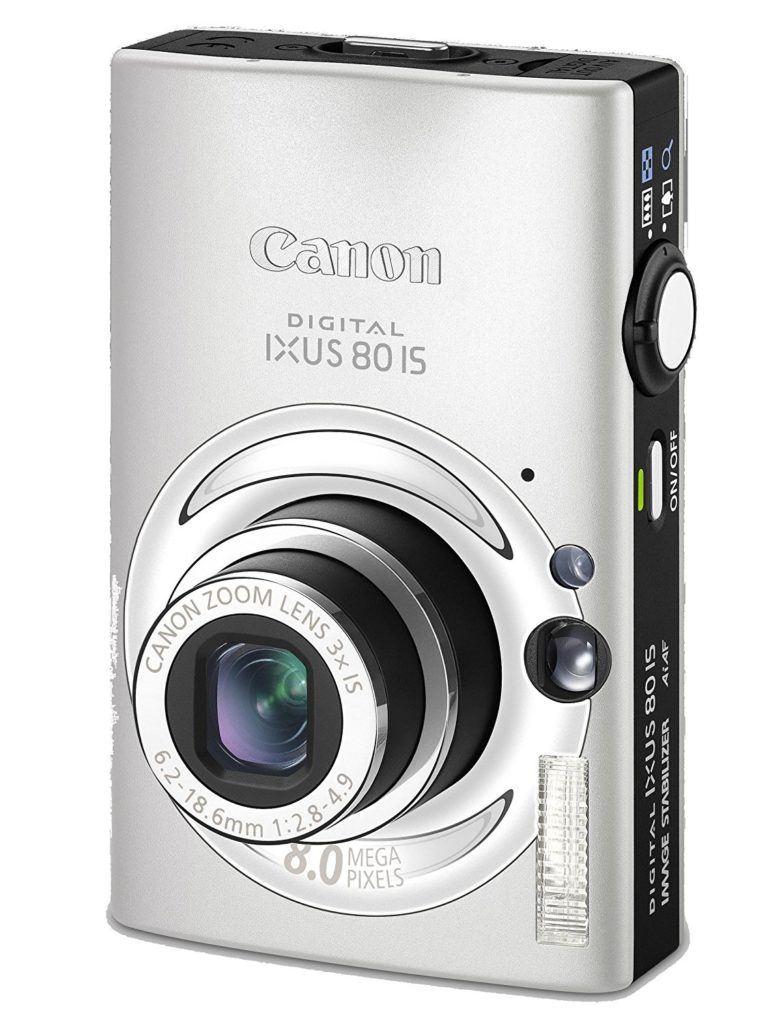 Canon Digital IXUS 80 IS Digitalkamera