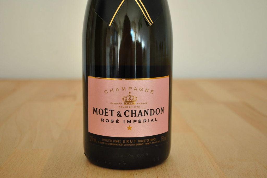 Champagner Moet Rose 1
