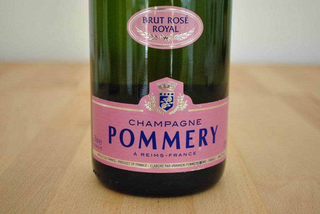 Champagner Pommery Rose 1