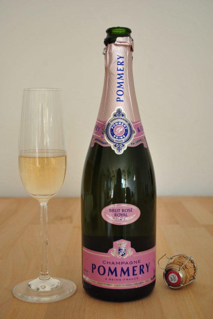 Champagner Pommery Rose 2