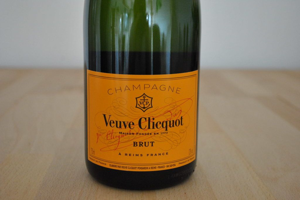 Champagner Veuve 1
