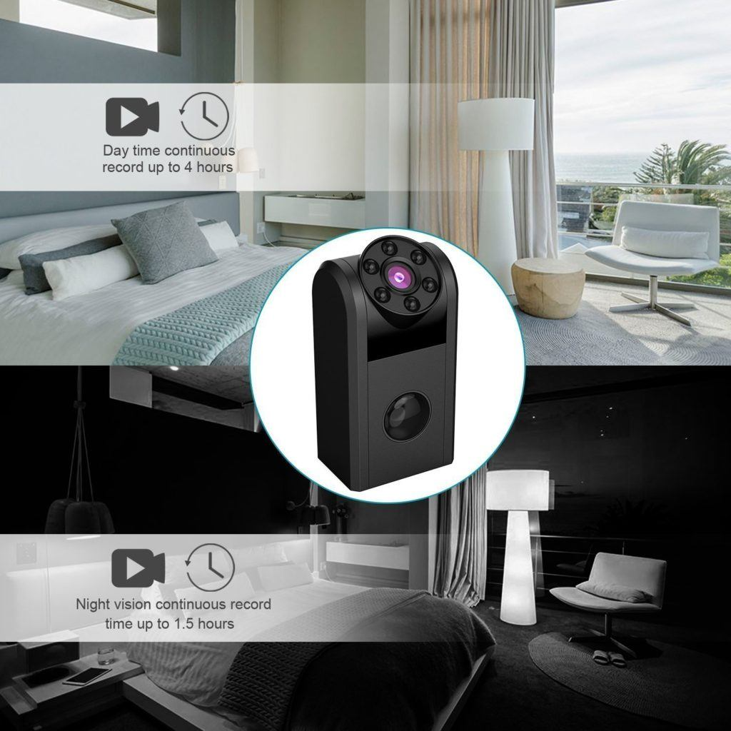 conbrov t11 mini spion berwachungskamera im test 2018. Black Bedroom Furniture Sets. Home Design Ideas