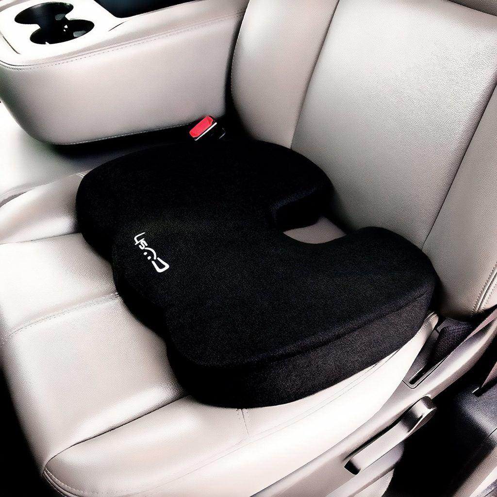 Cush Comfort Rutschfestes Memory Schaum Sitzkissen Sitzauflage F%C3%B6rdert Die Wirbels%C3%A4ulen Ausrichtung Und Lindert R%C3%BCckenschmerzen