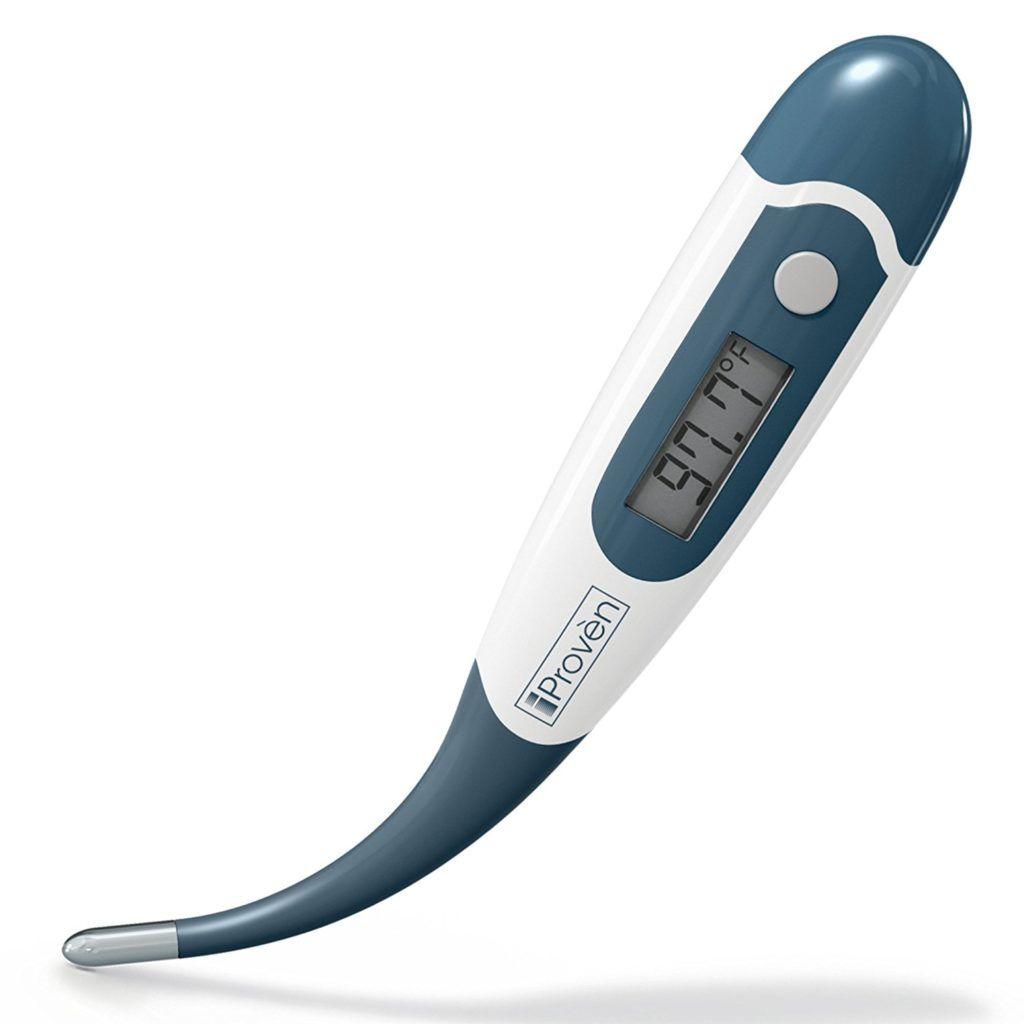 Digitales Fieberthermometer Zum Messen Der Temperatur Digitales Fieber Thermometer Baby Rektal IProven DT K117A.