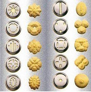 Edealing Kräcker Kekse-Presse-Maschine-Küche-Werkzeug-Kuchen, der Biskuit-Maschine
