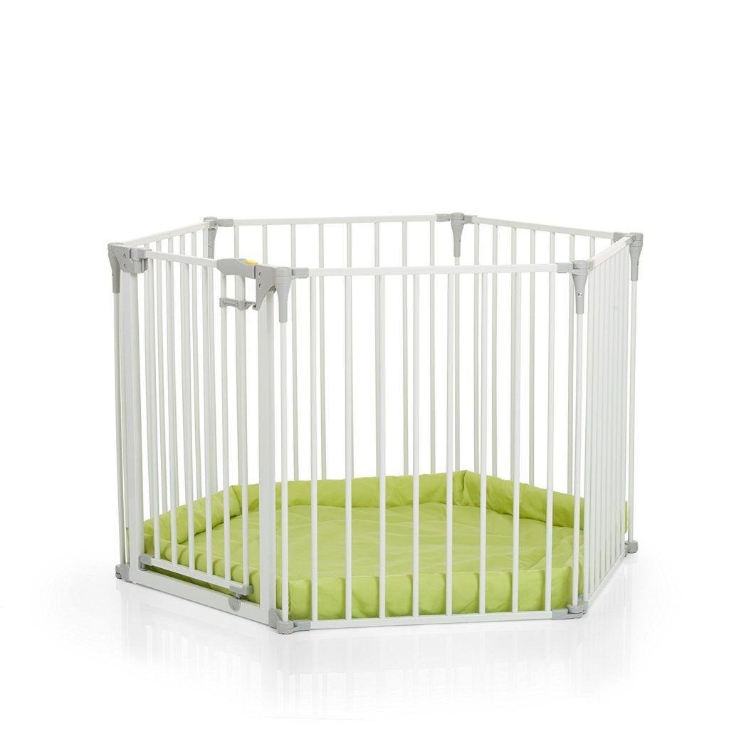 Hauck Baby Park Kinderschutzgitter Wei%C3%9F 366 X 115 X 75 Cm.